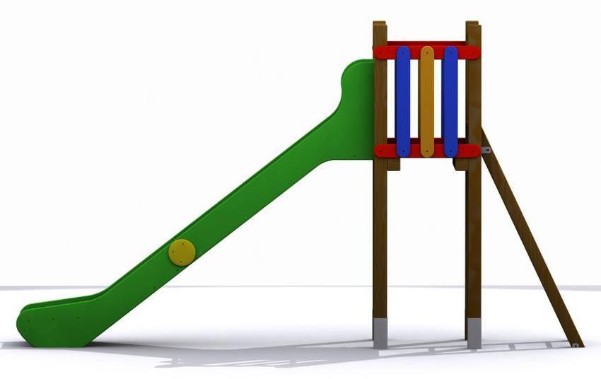 Torre tobog n para parques infantiles modelo gredos alta - Tobogan infantil ikea ...