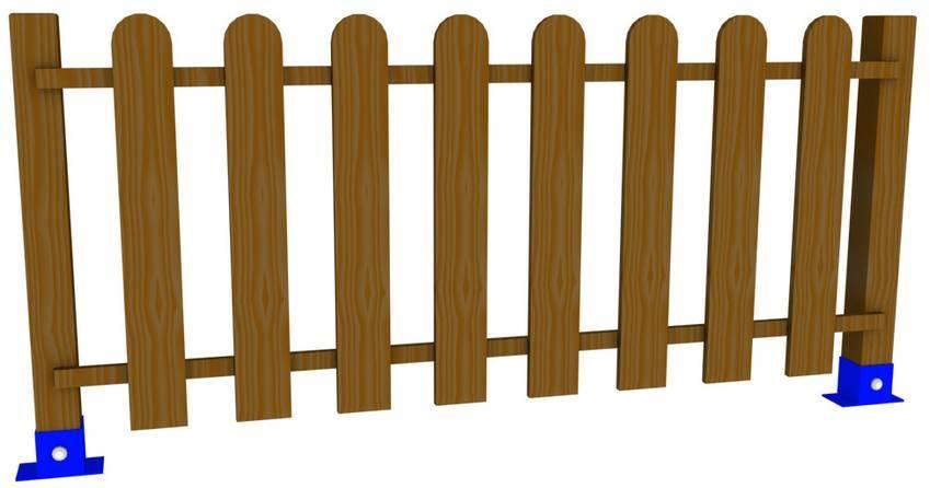 Vallado de madera vallas de madera para parques for Vallas madera para jardin