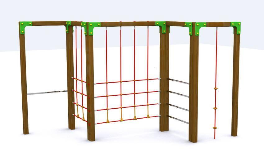 Juego multi trepa para parques infantiles modelo trepa - Como hacer un parque infantil ...