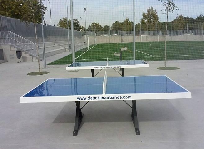 mesas de ping pong exterior y antivand licas para parques