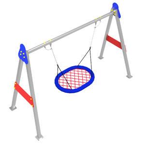 Columpio Nido Metálico con certificado EN-1176 para parques infantiles