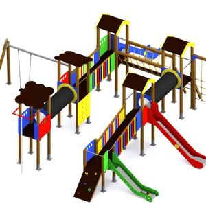 Parque Infantil Multiaventura Conjunto Llobregat