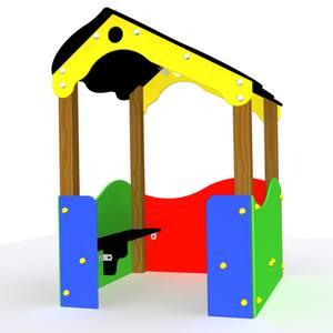 Casita para parques infantiles Modelo La Flor