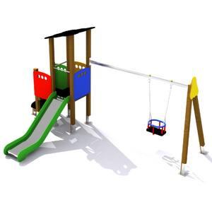 Parque Infantil Conjunto Tormes con Columpio