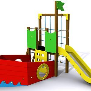 Conjunto parque infantil El Barco del Mar Menor