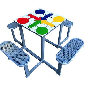 Mesas de Parchís para parques, plazas y colegios