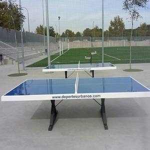 Mesas de ping pong exterior y antivandálicas para parques