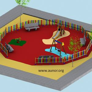 Oferta Parque Infantil. Modelo Aunor