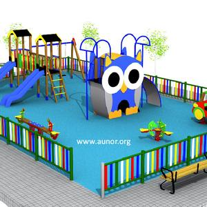 Oferta Parque Infantil Ayuntamientos. Modelo Aunor 08