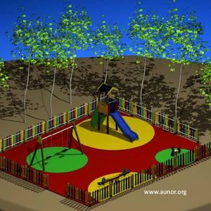 Oferta Parque Infantil para Hoteles y Restaurantes. Modelo Aunor 05