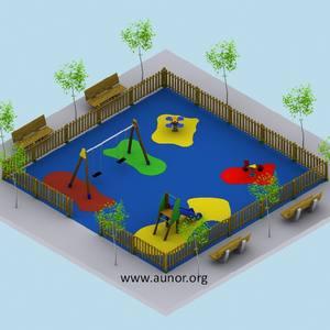Oferta Parque Infantil para Comunidades. Modelo Aunor 02