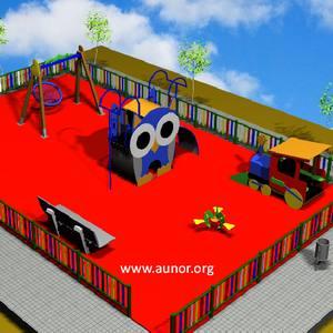 Oferta Parque Infantil para Guarderías y Campings. Modelo Aunor 06
