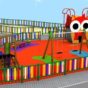 Oferta Parque Infantil Público. Modelo Aunor 07