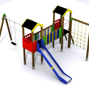 Conjunto parque infantil Duero