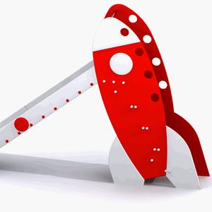 Toboganes para parques infantiles: Tobogán Cohete y Cohete Mini
