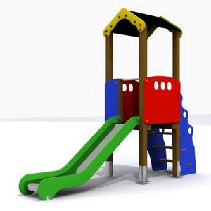 Torre Tobogán. Parque Infantil Conjunto Segura Mini