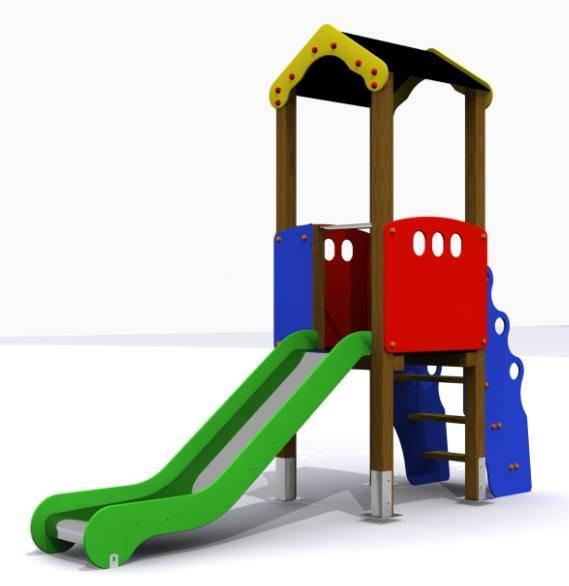 Torre Tobog N Mini Parque Infantil Conjunto Segura