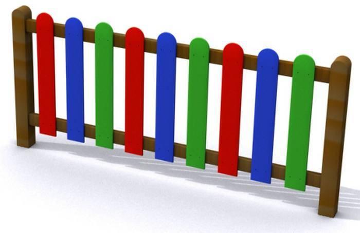 Vallas infantiles de colores vallado lama polietileno - Vallas de plastico para jardin ...