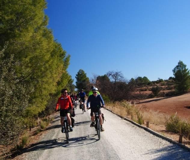 Via Verde del Peregrino- ruta en bici autoguiada