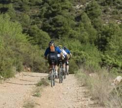 Un lugar para disfrutar y pedalear: la Sierra Espuña