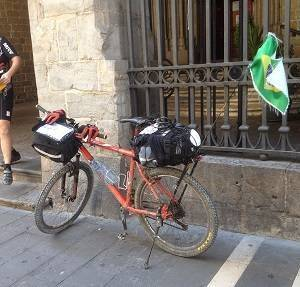 El Camino Mixto en bici y a pie desde Pamplona hasta Santiago