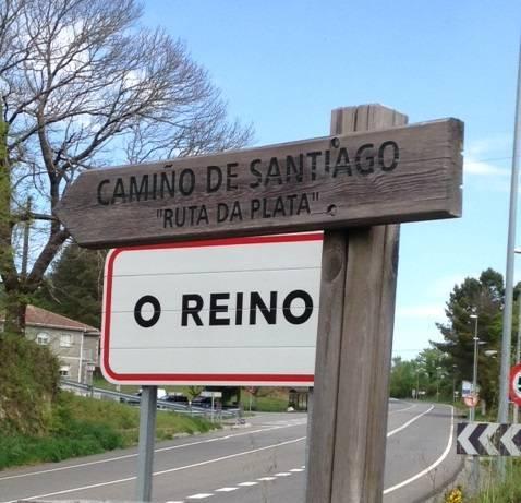 Viá De La Plata O Camino Sanabrés Desde Ourense Hasta Santiago