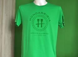Camiseta Verde de Chico Logo Cuerda (portes debidos)