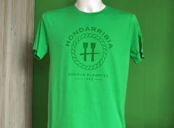 Camiseta Verde de Chico Logo Cuerda