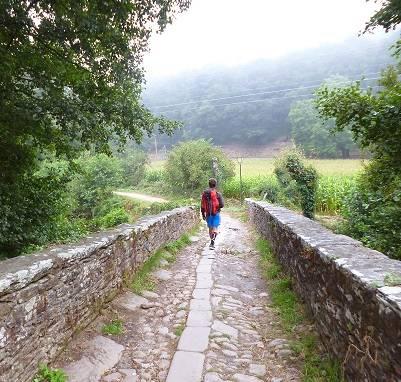 Gli ultimi 100 km del Cammino Francese