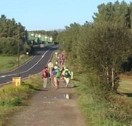 Cammino misto: da Roncesvalles a Santiago, 6 tappe a piedi + 7 in bici + 8 a piedi