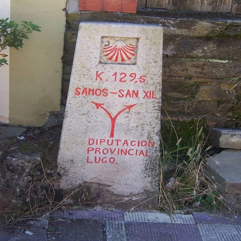Il Cammino francese da Cebreiro a Santiago di Compostela
