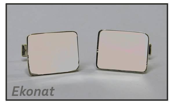 Gemelos rectangulares lisos